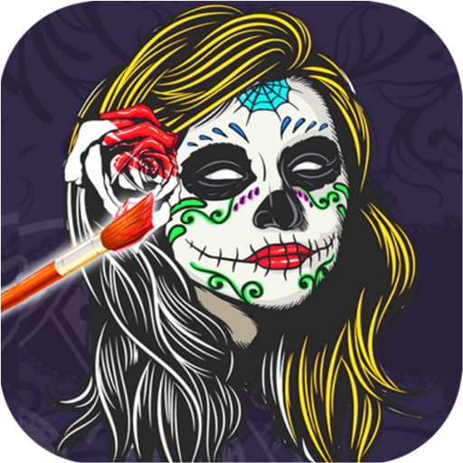 Sugar Skulls Mandala Coloring Free Book For Adult