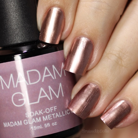 Madam Glam Rose Gold