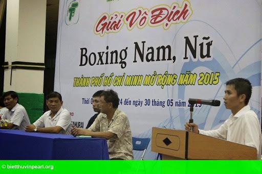 Hình 2: Khai mạc giải vô địch Boxing mở rộng TP HCM năm 2015