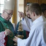 Wizyta Biskupa z Argentyny