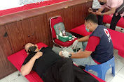 Sebanyak 120 Kantong Darah Berhasil Terkumpul Untuk PMI dari Polres Batubara