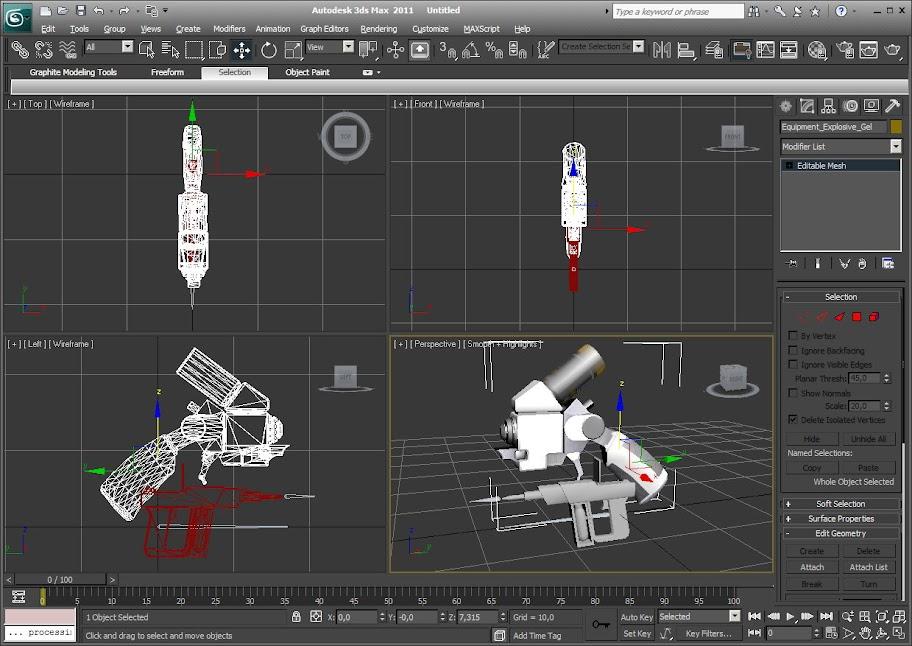 Создание новой модели оружия в Unreal Engine   MetalMedved
