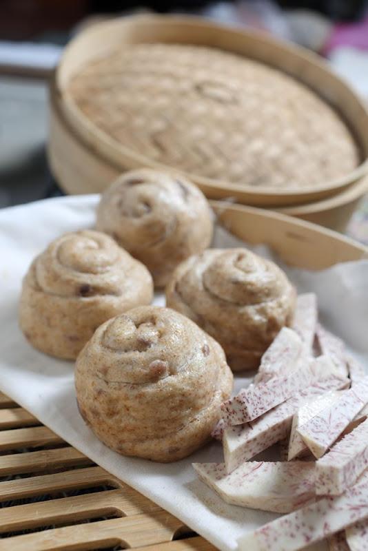 芋頭饅頭  480g(一袋6顆)