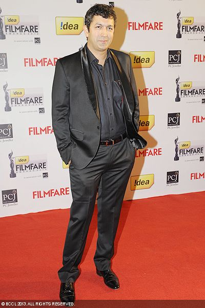 Kunal Kohli looked dapper during the 58th Idea Filmfare Awards 2013, held at Yash Raj Films Studios in Mumbai.Click here for:<br />  58th Idea Filmfare Awards