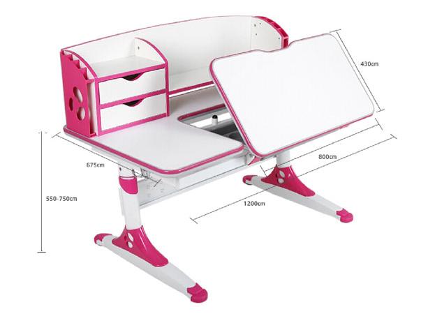 Ergonomic study table