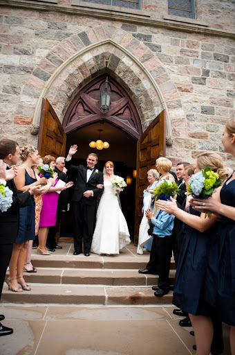 Wedding at First Congregational Church in Ann Arbor photographed by Wendy Martin