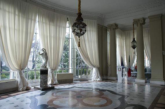 'Bienvenidos a palacio'