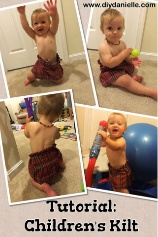 How I made my sons kilt costumes for Renaissance Festival and Halloween