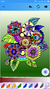 Antistress coloring for kids and adults - náhled