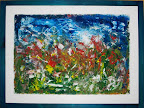 n. 46 Paesaggio rurale (acrilico si tavola) cm 80x60