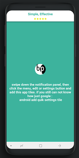 Screenshot for Brightness Patch for System method in United States Play Store