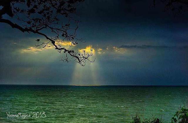 Senja di Pantai Kesirat Gunung Kidul Jogja