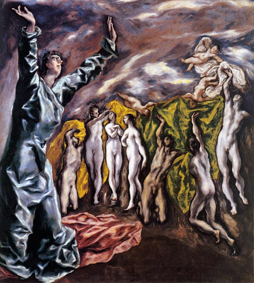 El Greco - The Opening of the Fifth Seal