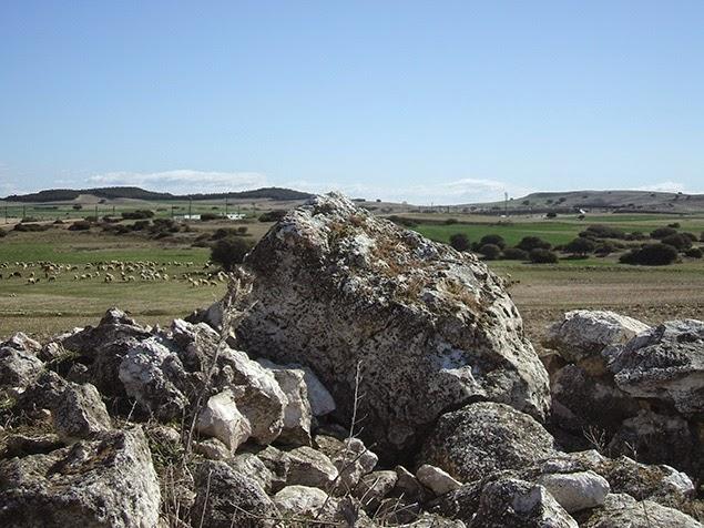 Cerros de Espartinas desde Mojón 8º