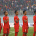 Nepal's first goal in the tri-national football tournament