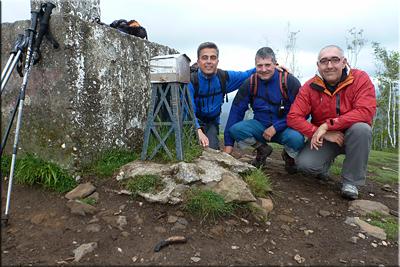 Mandoia  mendiaren gailurra 638 m. -- 2016ko maiatzaren 22an
