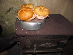 Photo: Scaldiamo i panini :P