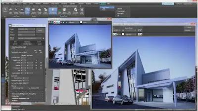 برنامج النمذجة والاظهار المعماري 3d-max