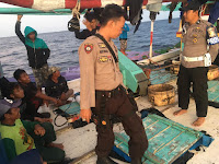 Paspamsus Laksanakan Patroli Laut Bersama, Pada Wilayah Hukum Polsek Takabonerate.
