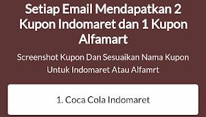 Cara Mendapatkan Coca Cola Gratis di Indomaret dan Alfamart