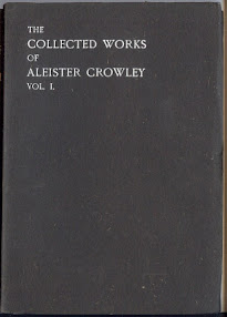 Cover of Aleister Crowley's Book The Works Of Aleister Crowley Vol I Part 1