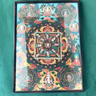 Tibetan Mandala Painting