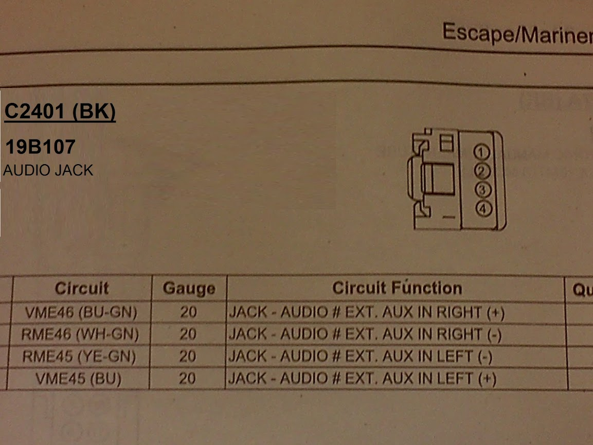 C2401 aux in tray help? with pic f150online forums  at edmiracle.co