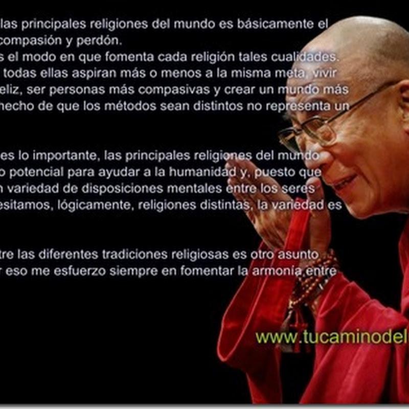 mensaje del Dalai Lama: Valores y religiones