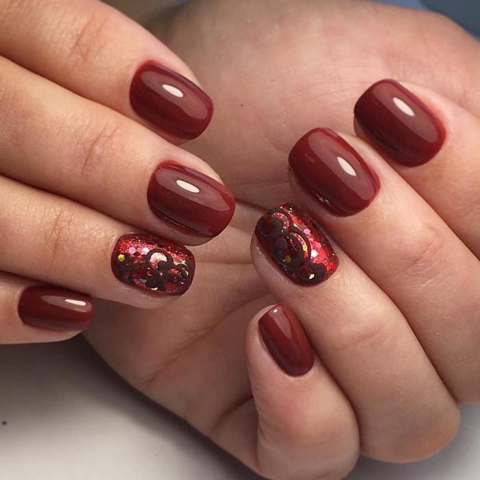 Latest Red Nail Designs-Cute Nail Art Ideas 3