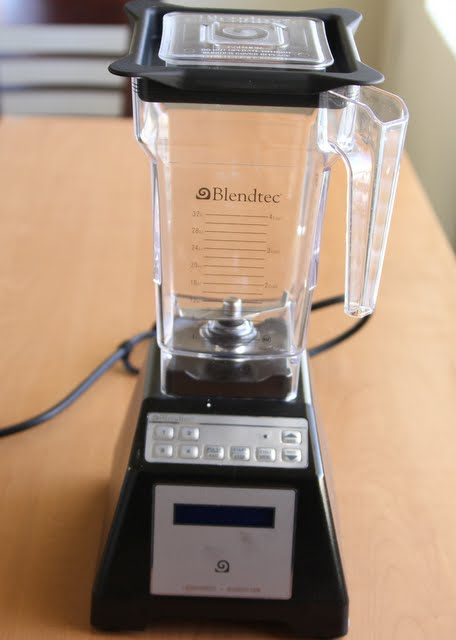 photo of a blendtec blender
