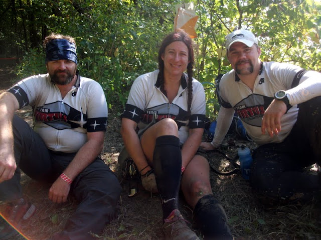 Team Virtus at Thunder Rolls Adventure Race