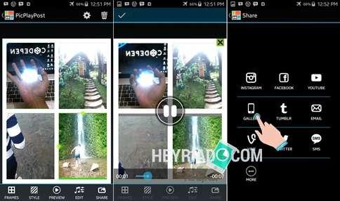 ternyata sangat gampang loh dengan tutorial ini Cara Membuat Video Kolase (Kotak-kotak) di Android