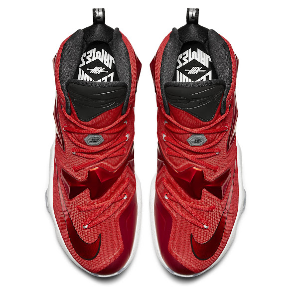 Release Reminder Nike LeBron XIII 13 strikeAwaystrike On Court