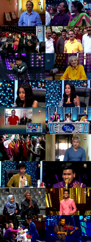 Screenshots Of Hindi Show Indian Idol 5th January 2020 Episode 26 300MB 480P HD