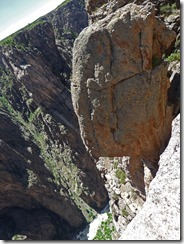 Balancing Rock,  Black Canyon of the Gunnison National Park