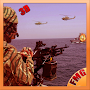 Navy WW helicopter battleship APK icon