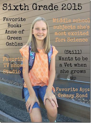Halle 6th grade