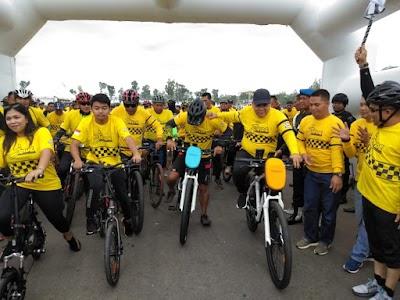 Padati Perum Jhonlin, Ribuan Biker Meriahkan Batulicin Festival