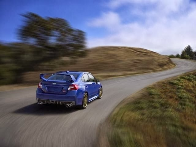 2015 Subaru WRX STI Leaked Photo 6