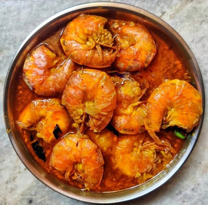 Prawn Curry Recipe   Breakfast Care