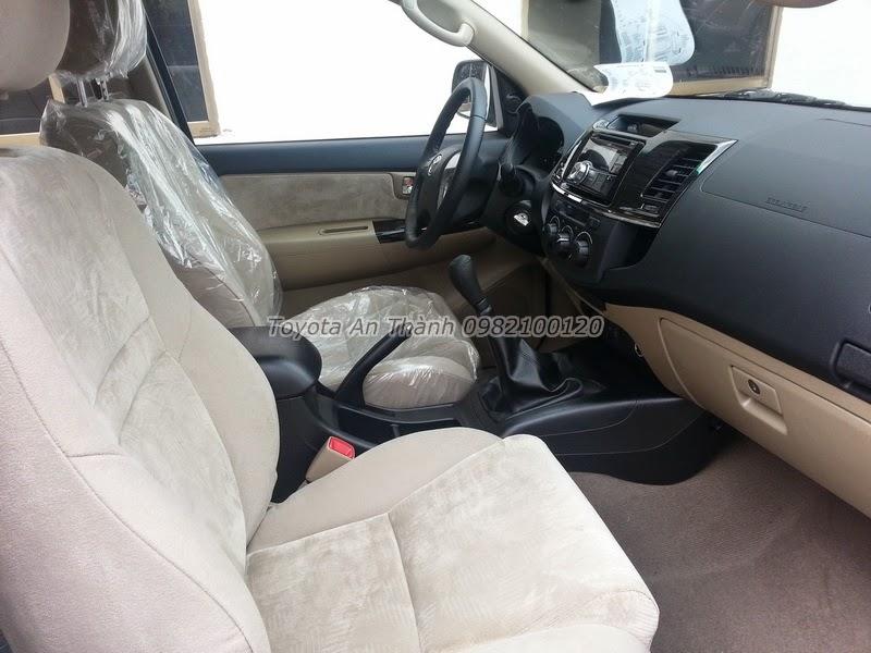 Khuyến Mãi Giá Xe Toyota Fortuner 2.5G 2015 Máy Dầu Số Sàn 7
