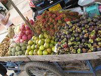 Fruit cart - Vientiane