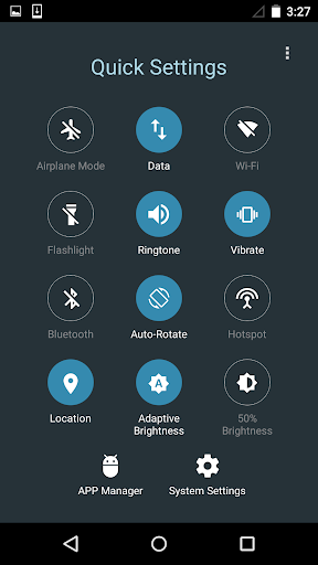 Quick Settings for Android -Toggle & Control Panel for PC