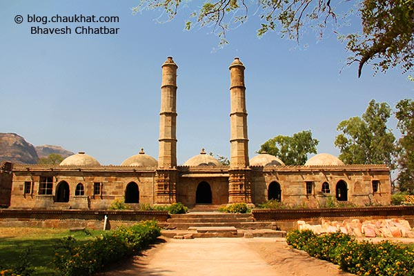 Shahar ki Masjid [Bohrani] at Champaner-Pavagadh Archaeological Park