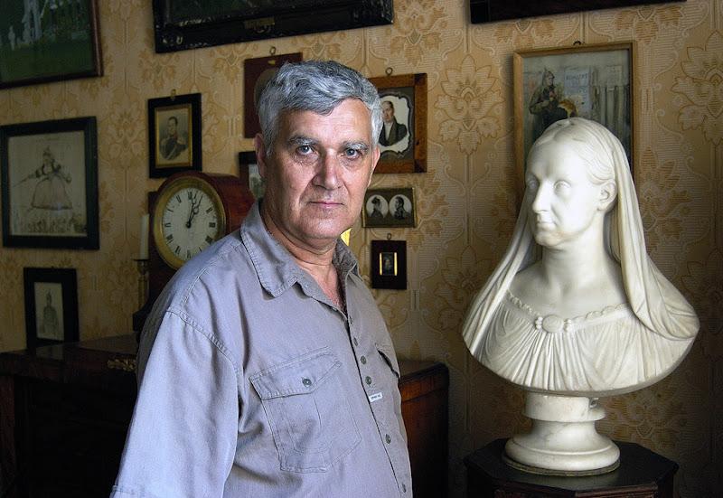 Yuri Epatko. Russian Art Historian & Art Collector. St.Petersburg, Russian Federation, 2003