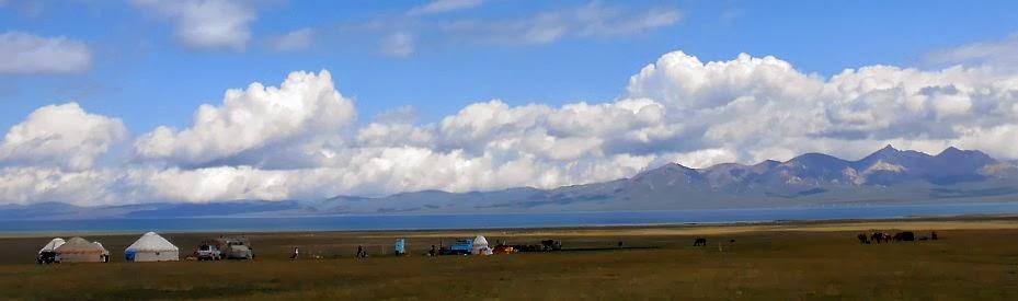 Jurten von Aitbek am Song Köl, 3000 m, Kirgistan