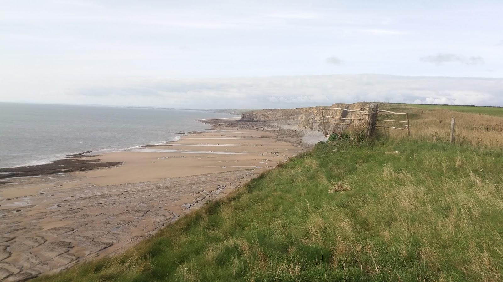 20170824 160818 Traeth Mawr beach from Nash Point cliffs