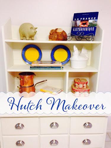 DIY Hutch Makeover
