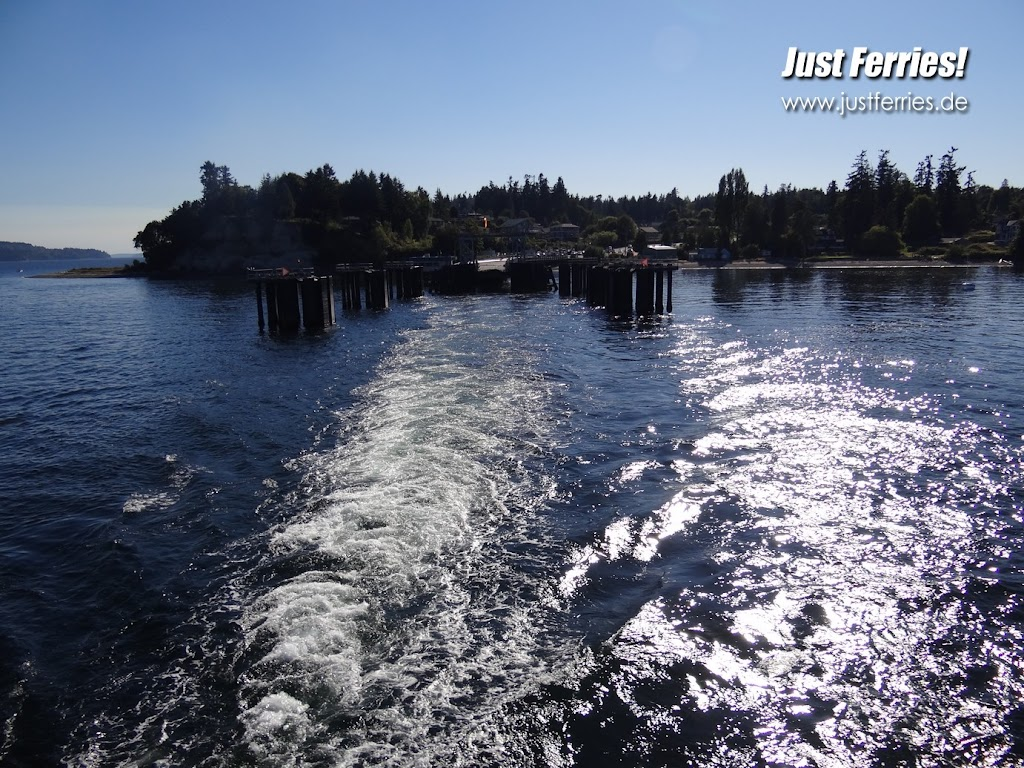 Ferry In Vashon Island Youtube