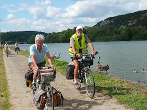 Photo: le long de la Meuse entre Namur et Dinant